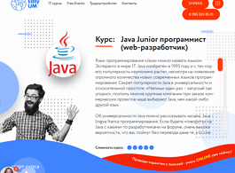 Курс Java Junior программист (веб-разработчик) (EasyUM)