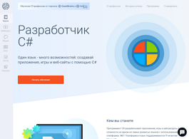 Разработчик C#: Microsoft developer (GeekBrains)