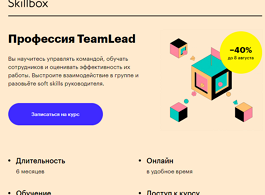 Профессия TeamLead (Skillbox.ru)