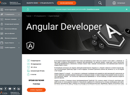 Курс Angular Developer (ITVDN)